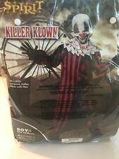 Brand New Spirit Killer Klown Boys Size XL 12/14 Costume