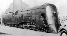 New York Central Commodore Vanderbilt Streamline Steam Locomotive Train photo R