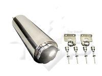 "3x9"" Stainless radiator over flow tank reservoir radiator spit puke tank  can"