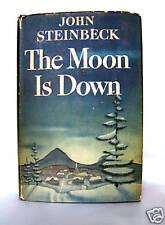 JOHN STEINBECK, THE MOON IS DOWN, 1942, 1st Ed  WW II,  Literature & Fiction