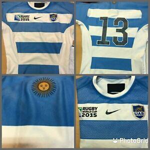 Nike jersey match Pumas RWC 2015 rugby Argentina UAR