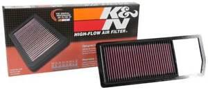 33-3070 K&N Air Filter fits FIAT 500 1.3 Diesel & Panda III 1.3D Euro 6 2016-