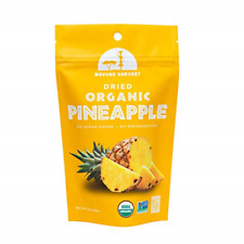 Mavuno Harvest Fair Trade Organic Dried Fruit, Pineapple, 2 Ounce Pack of 6