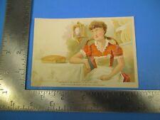 Antique 1890 The Pure Baking Soda Trade Card Light Sensitive Paper Eyes S4750