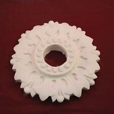 Ceiling Rose 260mm. Fine Plaster. Genuine Handmade in Kent. UK