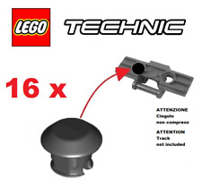 LEGO Technic 24375 6139223 - Lotto 16 Gommini x cingolo Technic NUOVI MAI GIOCAT