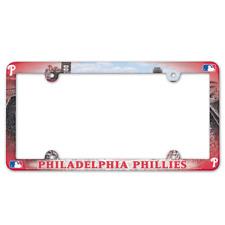 Philadelphia Phillies License Plate Frame Stadium MLB Baseball