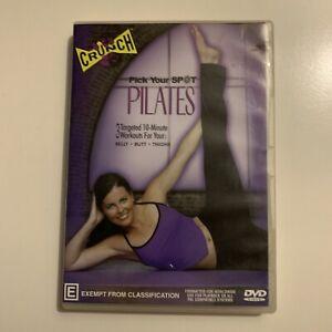 CRUNCH Pick Your Spot Pilates (DVD, 2002) All Regions