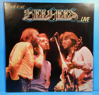 HERE AT LAST... THE BEE GEES LIVE 2X LP 1977 ORIGINAL GREAT CONDITION VG+/VG++!!