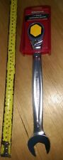 NEW SIDCHROME COMBINATION 1 inch gear spanner, rachet, geared 22479