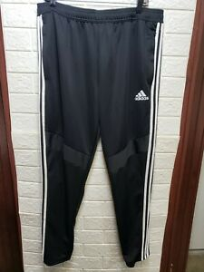 Adidas Mens Standard Tiro 19 Pants Black/White Size XLarge