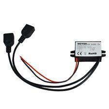 Spannungswandler 12V 24V 36V 48V DC auf 5V DC 3A 15W Konverter Stepdown 2x USB