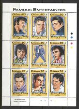 GAMBIA 1993, ACTORS, MUSIC LEGENDS, ELVIS PRESLEY, Scott 1397 SHEET, MNH
