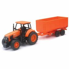 Kubota Kids Tractor and Wagon Set Farm Toy