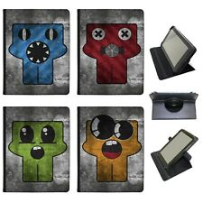 Azzumo Grunge Monsters Faux Leather Case Cover / Folio for the Samsung Tablet