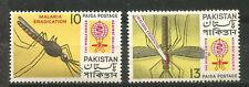 PAKISTAN Scott# 160-161  ** MNH Lucha contra la Malaria 1962