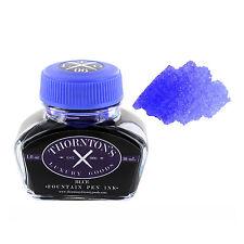 Thornton's Luxury Goods Fountain Pen Ink Bottle, 30ml - Blue