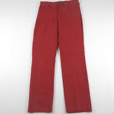NYDJ Not Your Daughters Jeans Colored Red Straight Leg Size 4P