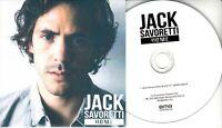 JACK SAVORETTI Home Acoustic Radio Mix 2016 UK 1-trk promo test CD PROMOBMG1226