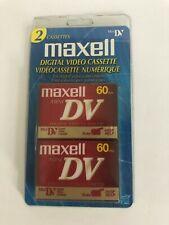 Maxell Digital Video Cassette Mini DV 60 Min. 60SP 90LP 70.4m Camera Cam Corder