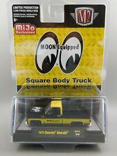 M2 Machines MiJo 1979 CHEVROLET SILVERADO  MOON Equipped Square Body Truck 1:64