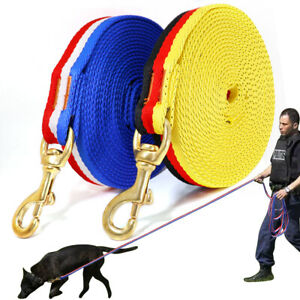Indestructible Nylon Working Tracking Lead Long Webbing for Dogs Pet 3/5/10/20cm