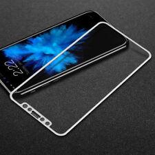 4D FUll Coverage Fiber Bumper Temper Glass Screen Film Protector For iPhone X 10