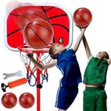 Kids Indoor Outdoor Portable Basketball Net Hoop Backboard Adjustable Stand