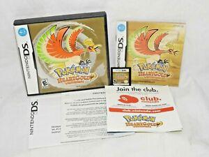 Pokemon: HeartGold Version (DS, 2010) Complete! CIB. Authentic! 3DS DSI