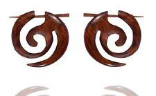 Tibetan Handmade Brown Wooden Tribal Craft African Stick Wood Erring WER010