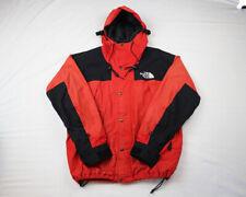 Vintage The North Face x Gore-Tex Rain Jacket Red Black 90s Color Block Mens XL