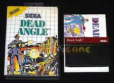 DEAD ANGLE Master System Versione Europea PAL ••••• COMPLETO