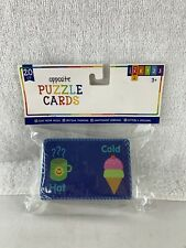 Opposites Puzzle Cards For Children. Great For Homeschooling.   20 Ct. Brand New