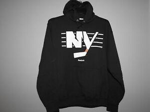 NHL New York Islanders Hooded Sweatshirt New Mens Sizes
