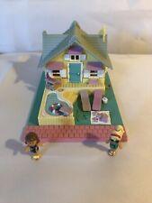 Polly Pocket Summer House 100% complete 1995 bluebird toys