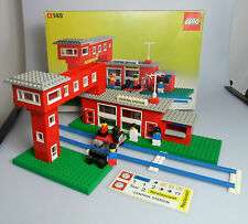LEGO® Town Classic Set 148 Bahnhof Central Station + Karton, no instruction!