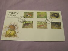 Jersey / Channel Island First Day Cover / Stamps - Nature - Countryside Animals