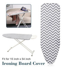 Deluxe Replacement Ironing Board Silicone Cover Thick Protective Pad 54x14 inch