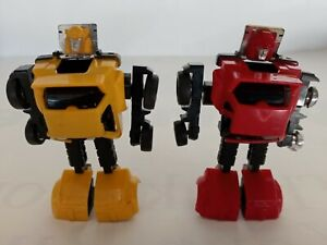 original 1984 G1 Transformers minibot yellow & red CLIFFJUMPER Damaged