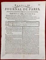 Rare États Généraux Juin 1789 Louis 16 Versailles Rodez Révolution Française