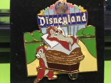 Disneyland Marquee Chip 'n' Dale Pin LE 1000 Disney