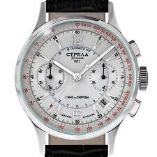 STRELA ® Chronograph OFFICER - OF38CYM-S Military Uhr Offizier Poljot 3133