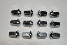 12 écrous de roue NEUFS R4 R5 R6 10 x 125 jantes tôle