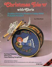 Christmas Tole 'n' Chris Myer Painting Projects Pinecones Faces Bear Birds Angel