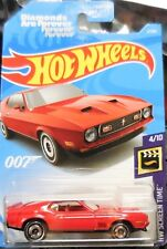 2019 Hot Wheels HW Screen Time Diamonds Are Forever 71' Mustang James Bond