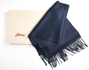 NEW 729,00 BRIONI Luxury Scarf  100% Cashmere  Made in Italy (SCB2)