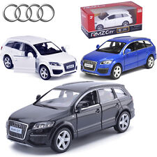 1:36 AUDI Q7 V12 SUV Diecast Model Vehicles Pull Back Car Decor Collection Toy