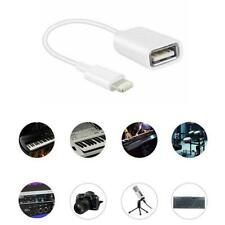 Lightning 8 Pin To USB Male to Female OTG Adapter Cable For Apple iPad iPho A1K5