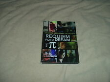 Requiem For a Dream Unrated + Pi Dvd Double Feature 2 Disc Set