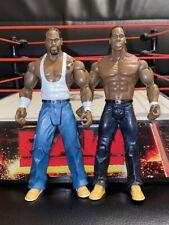 WWE Jakks Cryme tiempo raras figuras de acción Jtg Y Shad Gaspard